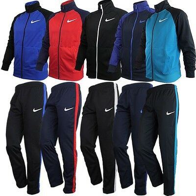 Nike RAGLAN WARM UP men's tracksuit red blue black turquoise NEW