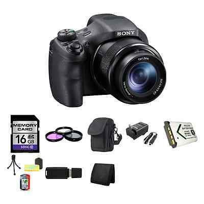Sony Cyber-shot DSC-HX300 Digital Camera 16GB Package