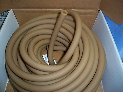 "15 feet 1/2"" ID x 1/16 wall x 5/8 OD Surgical Latex Rubber Tubing Natural :Latex"