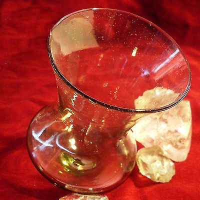 (1) GLOCKEN BECHER Franken frankish Bell-Cup Glas Glass Replica