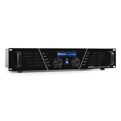 Super Ibiza Amp-600 Dj Pa Endstufe 960W Event Sound Equipment Xlr Led Effekt