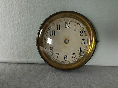 OLD SESSIONS MANTLE SHELF CLOCK DIAL / BEZEL GLASS CLOCK PARTS