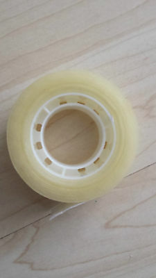 CLEAR SELLOTAPE Easy Tear 19mm x 33M STICKY TAPE  PACKAGING TAPE 2 4 6 8