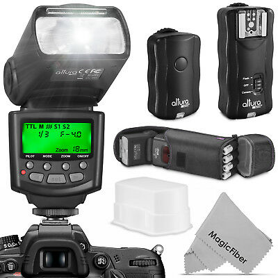 E-TTL Speedlite Flash Kit with Wireless Trigger for CANON DSLR by Altura Photo®