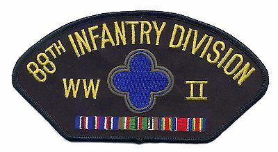 88th Infantry Division WWII Hat Patch