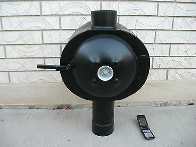 Grover Chimney Oven - Used on a Tent Stove or Wood Stove
