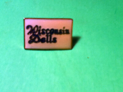 VINTAGE  WIS. DELLS  WISCONSIN COLLECTOR PIN