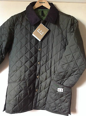 Mens Barbour Classic Liddesdale Jacket. Olive BNWT RRP £89.95