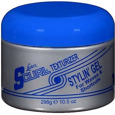 LUSTER'S SCURL HAIR TEXTURIZER STYLING ' GEL 10.5 oz FOR WAVES & SHORTCUTS