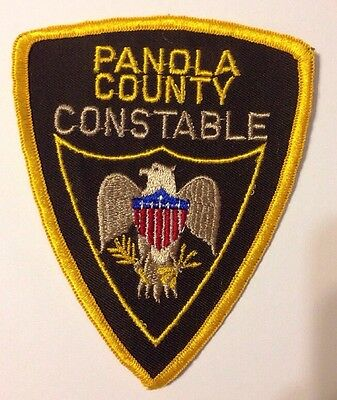 Panola County Mississippi Constable Patch