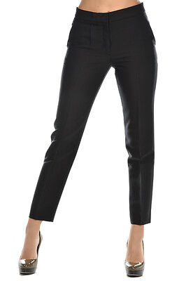 Victor & Rolf New Woman Black Dress Trousers Pants Size 46 ITA made Italy Sale