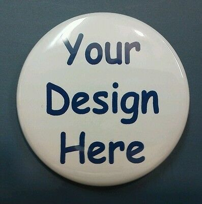 "12 Custom 2 1/4"" Pin back Buttons Badges Birthday Party Favors Photo"