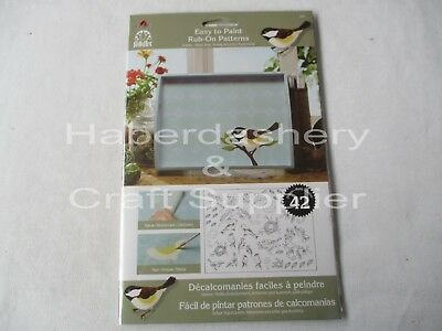 Rub On Patterns To Paint On*birds*5201
