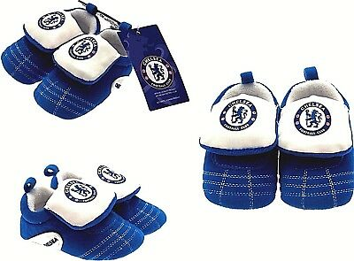 Chelsea Fc Baby Football Club Boots Booties Babys Slippers Pram Shoes Crib Cfc