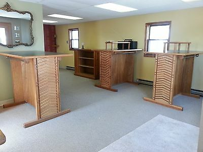 Professional Retail Fiture 8 Pc. Set, Wood & Formica, Beautiful