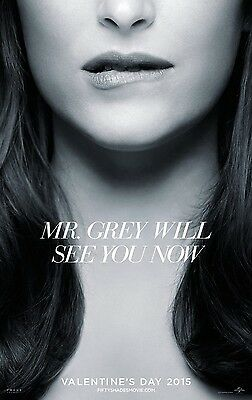 Fifty 50 Shades of Grey - Lip - Teaser Print - Double Sided 27X40 Movie Poster