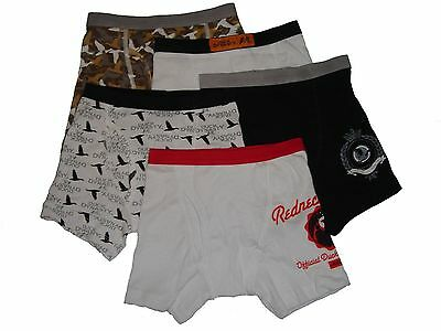 Handcraft Duck Dynasty Boys Boxer Briefs,5 Pack