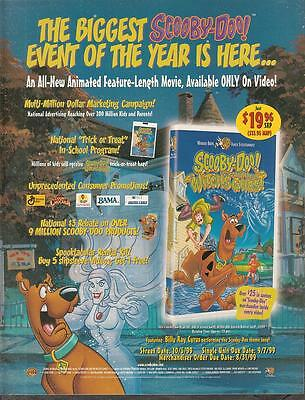 Scooby Doo and The Witch's Ghost 1999 Ad- biggest of the year