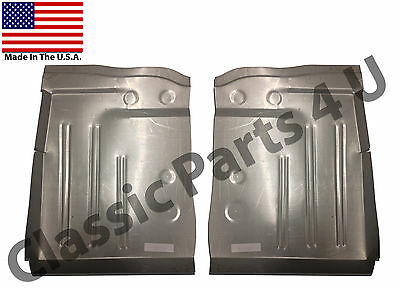 FRONT FLOOR PANS  CHEVROLET PONTIAC  1953 54  NEW PAIR!! FREE SHIPPING!!!