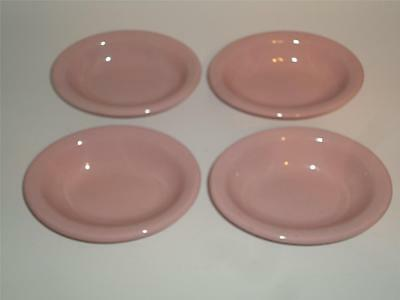McNichol Restaurant China Lot 4 Oval Side Bowls PINK!