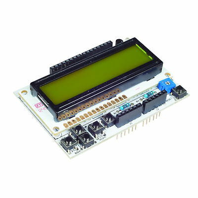 16X2 Character Green Backlight LCD Shield Display Board For Arduino New