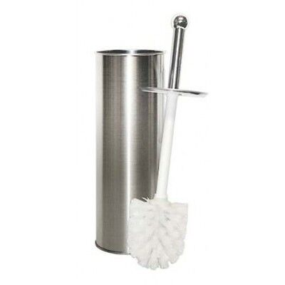New Stainless Steel Bathroom Toilet Cleaning Brush And Holder Free Standing Set