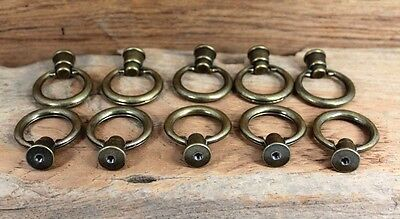 """Lot Set Of 10 Cabinet Alloy  Pull Handle European Style  Handles  1 """" Gold"""
