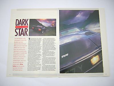 TVR 420SEAC Drive / Road Test from 1987 - Original - 420 SEAC