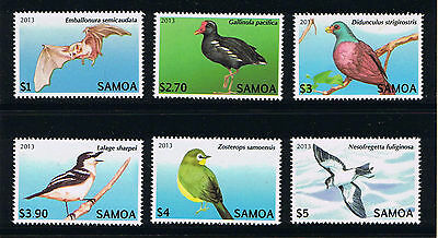 Samoa - 2013 Birds Definitives Series Postage Stamp Issue