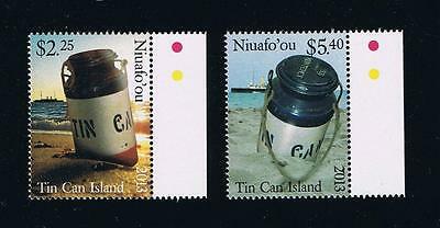 Niuafo'ou --- Honoring Tin Can Mail Issue Single Stamp