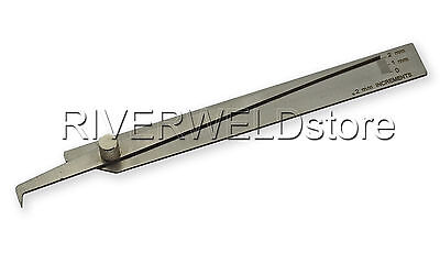 Welding Pit Undercut precise inspection Gage Increment V-Wac Weld Measure Gauge