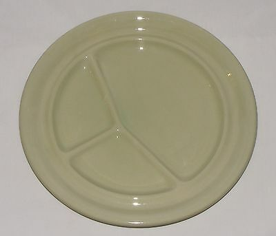 Vintage GRINDLEY ENGLAND 1950's ALMOND PETAL CHARTREUSE Green RARE GRILL PLATE