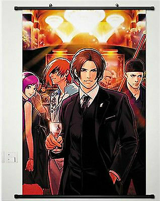 Home Decor Poster Wall Scroll The King Of Fighters Game K.O.F KYO SNK Anime
