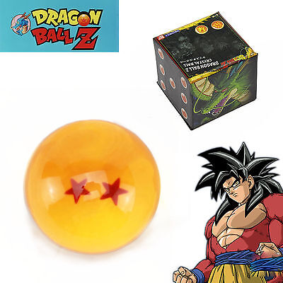 2 Star JP Anime Dragonball Crystal Ball in Box Package Collection special Gift