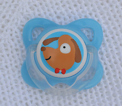 PJs ♥♥ Lil` Puppy ♥♥ DUMMY PACIFIER + MAGNETS 4UR PREEMIE REBORN BABY DOLL