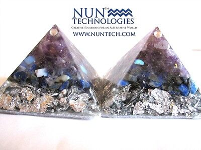 Orgone Crystal Healing Pyramid For For Spirit Guide Communication!