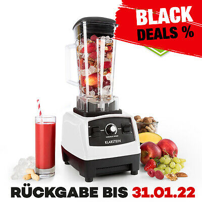 Bpa Frei Bar Cocktail Mixer 2G Ice Crusher Smoothie Maker Shaker Weiss 1,6 Ps