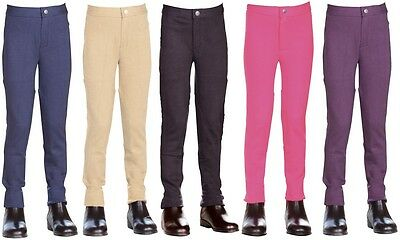 Childs Horse Riding Jodhpurs Bottoms/Pants **ALL COLOURS & SIZES**