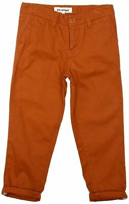 New Ben Sherman BS0715 Boys Classic Chino Jeans Straight Leg Trousers RRP £38