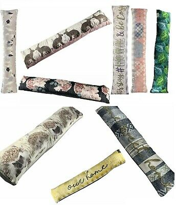 Novelty Tapestry Door Bottom Draught Excluder Cushion Draft Air Stopper Guard