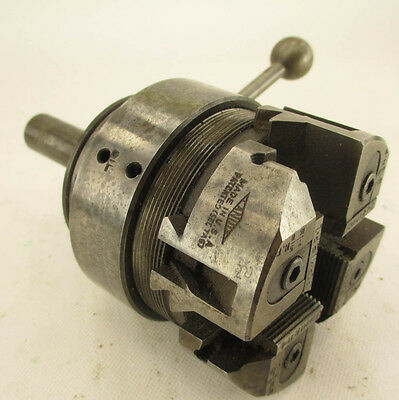 """LANDIS THREAD CUTTING DIE HEAD (#5H2422) 7/16"""" to 5/8 NF & THREADING CHASERS"""