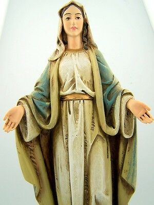 Needzo PLC 8 Resin Our Lady of Grace Virgin Mary Figure Statue Home Office Decor