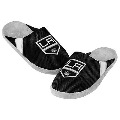 Los Angeles Kings Jersey Mesh SLIDE SLIPPERS New - FREE SHIPPING - NHL