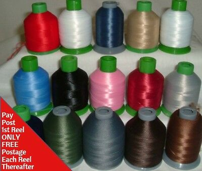 Woolly Nylon Overlocker/Serger Machine Thread 1000mtr = More on a Reel