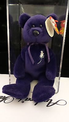 MINT CONDITION 1st Edition Princess Beanie Baby in plastic case