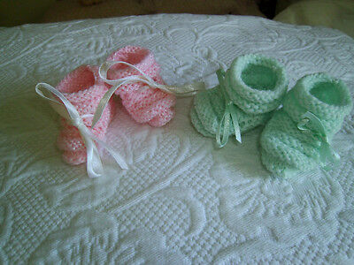 "2 PAIR BOOTIES MADE FOR 15"" TINY TEARS BETSY WETSY"