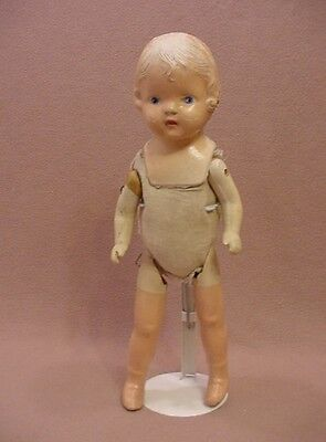 """15"""" vintage antique composition unmarked Patsy Doll type for TLC Repair"""