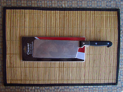 "CLEAVER 11"" Long ,6.5"" Blade, Kitchen Cooking Chef's Knife"