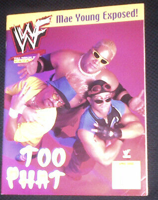 RARE WWF WWE Too Phat Rikishi Scotty Lawler 2000 Magazine WCW ECW TNA UFC