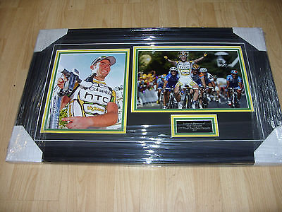 MARK CAVENDISH Signed Montage AFTAL